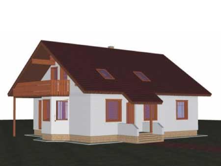 Stavba domu na kluč. Zabezpečím financovanie, pozemok, servis.