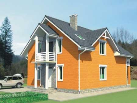 Stavba KERAMICKÝCH montovaných domov.