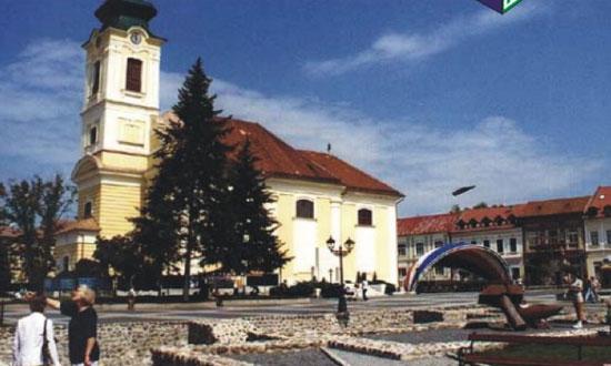 Rimavská Sobota, Hlavné námestie Rekonštrukcia námestia Výstavba: 05/1997 - 12/1997